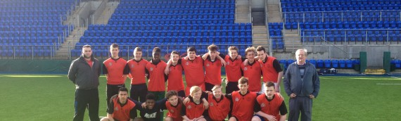 Brunner's U17 Rugby Team Give Spirited Display
