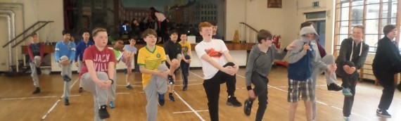 Capoeira workshop for JCSP students