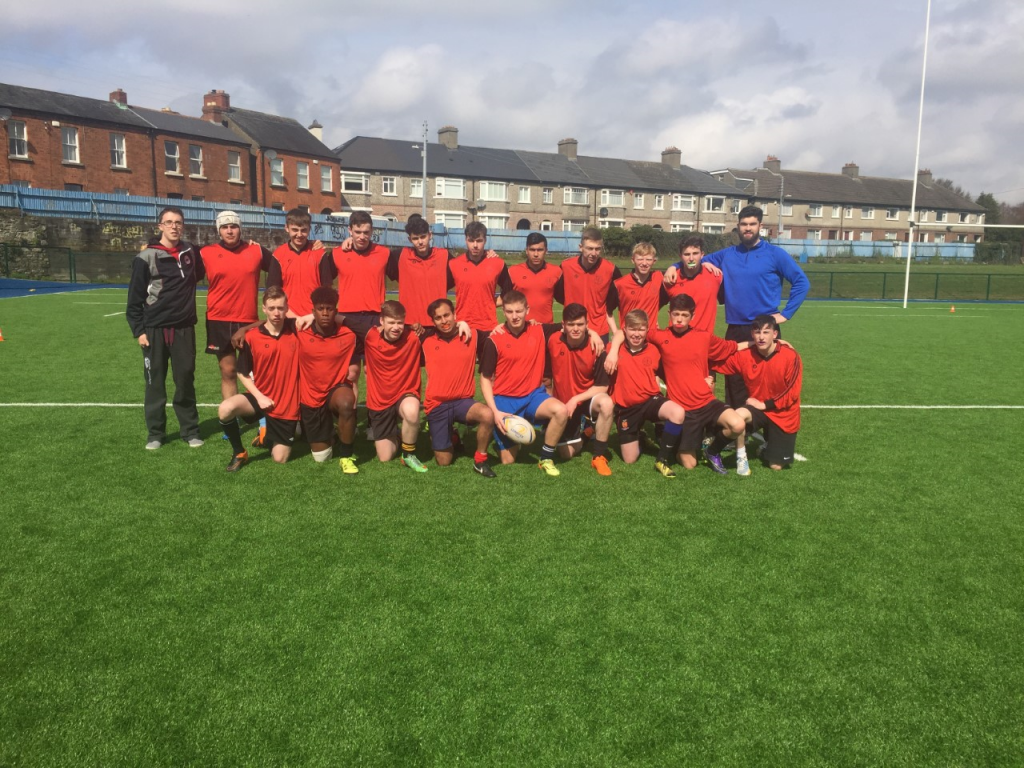 Team photo just before kick off